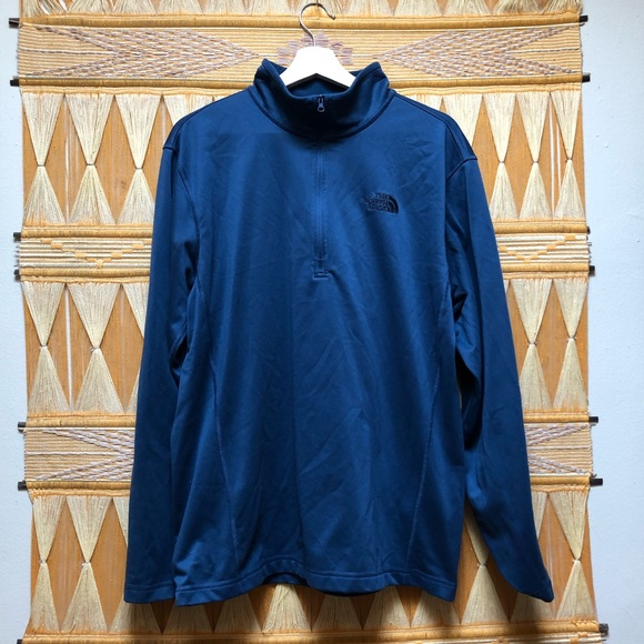 4dd9d70a5 The North Face 1/4 Zip Pullover Fleece Baselayer L